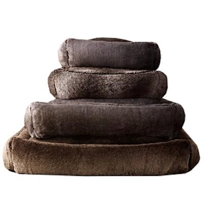 Faux Fur Pet Bed