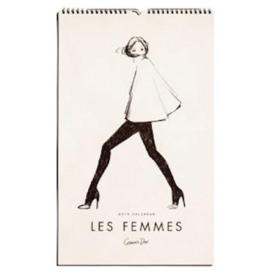 2015 Les Femmes Calendar