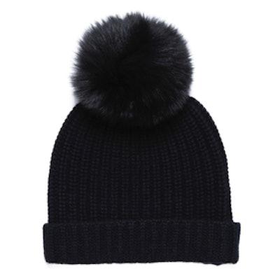 Cashmere Pom Pom Hat