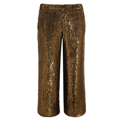Collection Cropped Sequin Pants