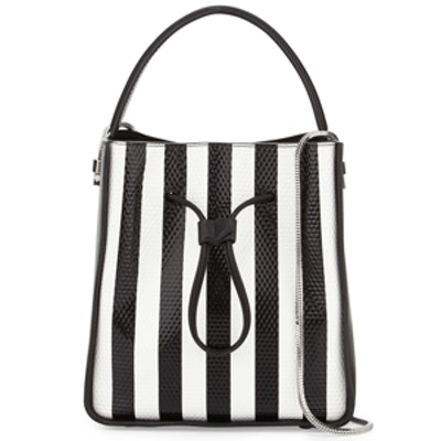 Soleil Small Bucket Drawstring Bag