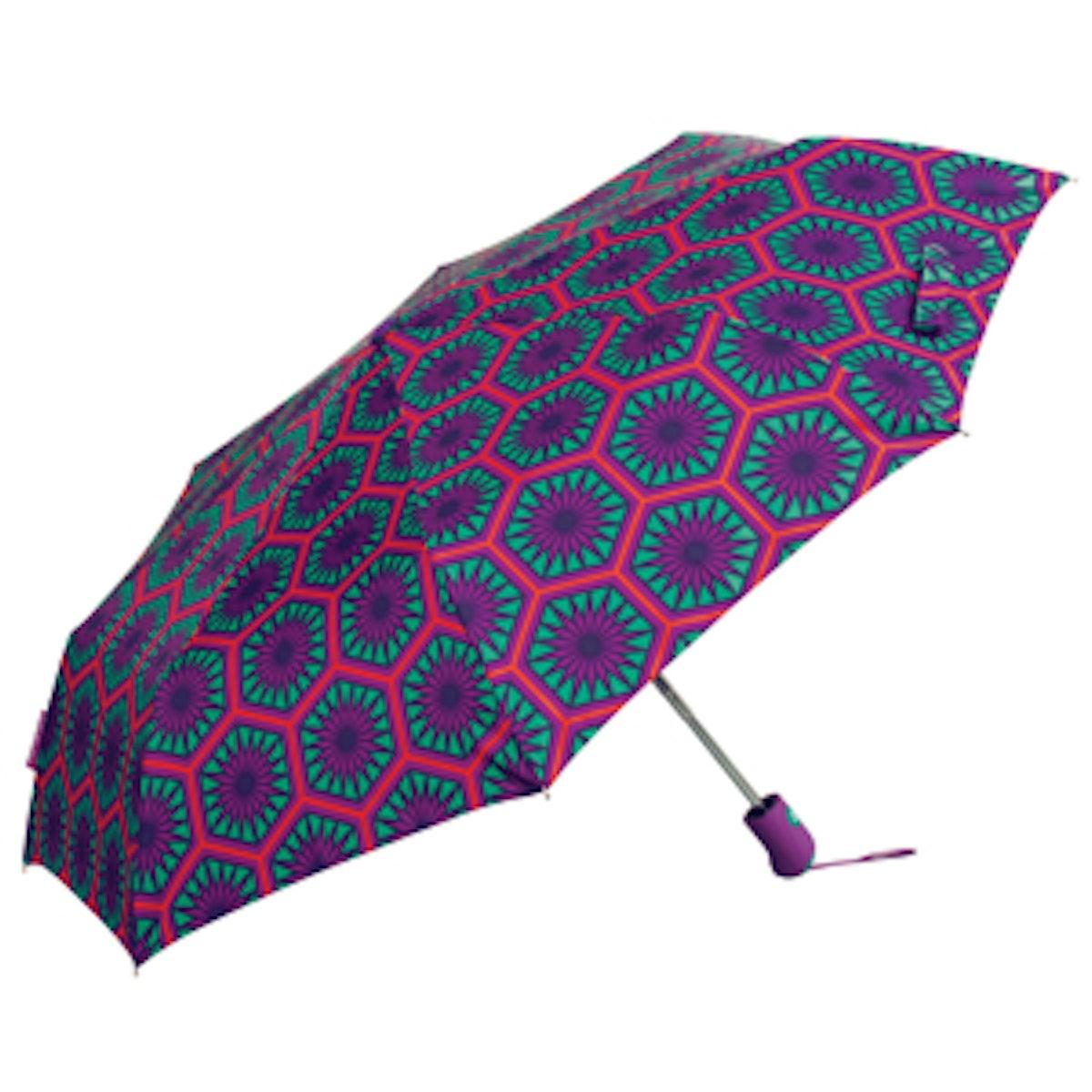Positano Hexagons Umbrella