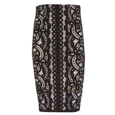 Libra Lace Pencil Skirt