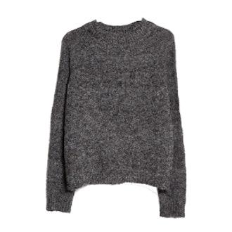 Boucle Grey Sweater