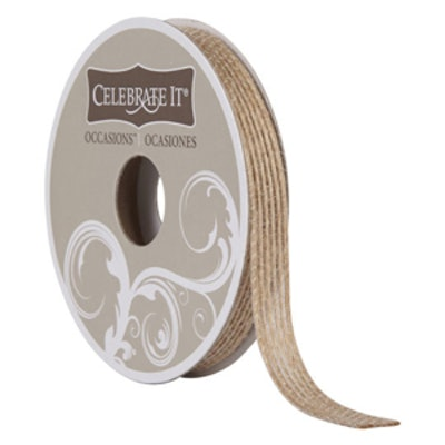 Celebrate It Occasions Natural Jute Ribbon