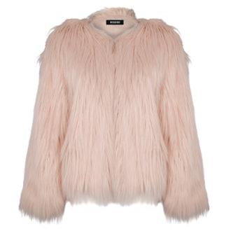 Cassie Shaggy Faux Fur Coat