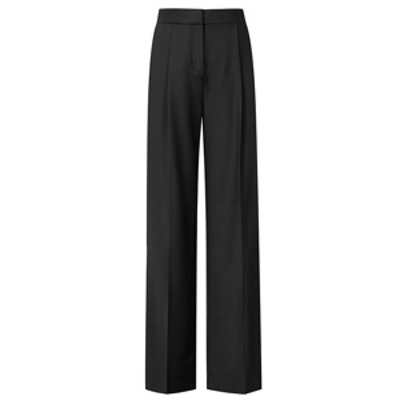 Francois High-Waisted Wide Leg Trousers