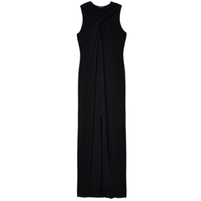 Cross-Front Maxi Dress