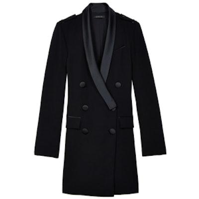 Long-Sleeve Tux Dress