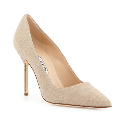 BB Sparkle-Suede Pumps