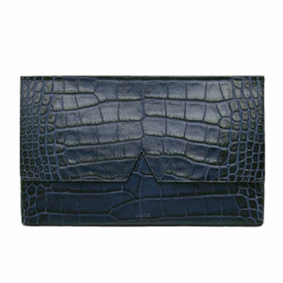 Signature Collection Stamped Medium Clutch
