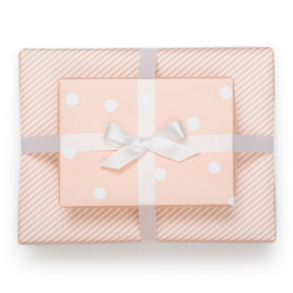 Reversible Wrap in Pale Pink