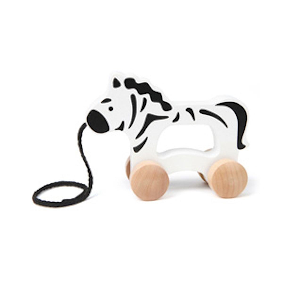 Zebra Pull Along