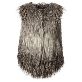 Faux Fur Large Vest