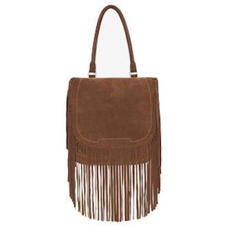 Fringe Flap Shoulder Bag