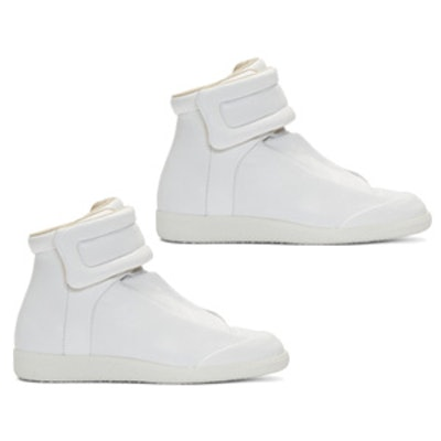 Leather Future High-Top Sneakers