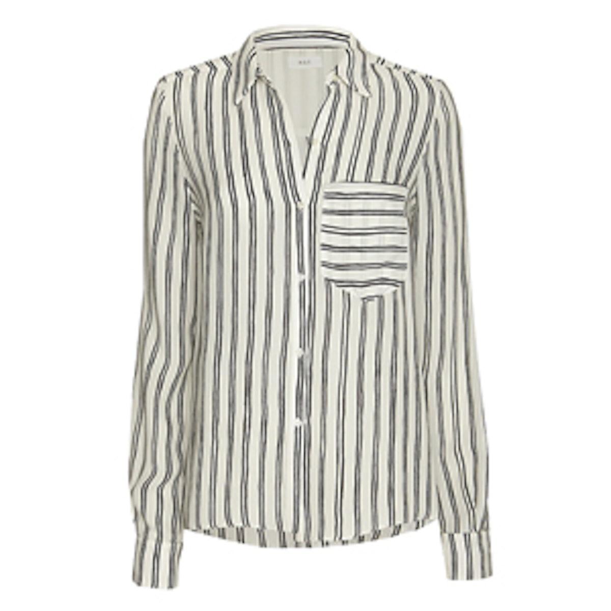 Troy Stripe Patterned Blouse