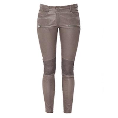 Moto Leather Pants