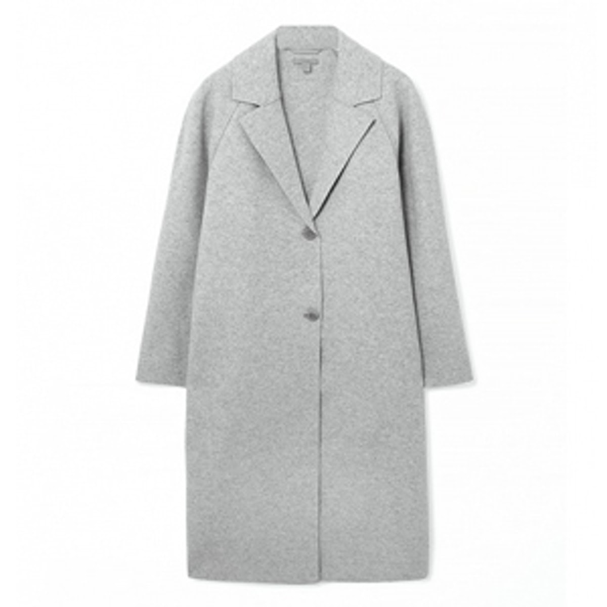 Clean Edge Wool Coat