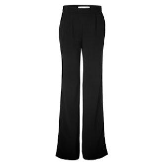 Crepe Wide Leg Trousers