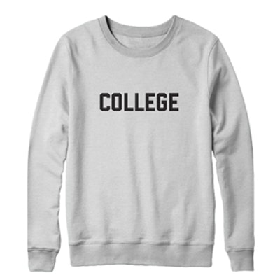 College Sweatshirt