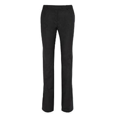 Alba Satin-Twill Bootcut Pants