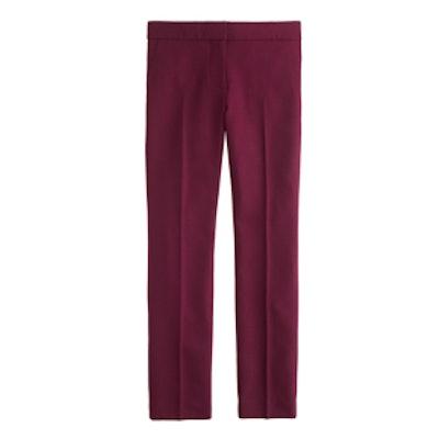 Campbell Capri Pant in Bi-Stretch Wool