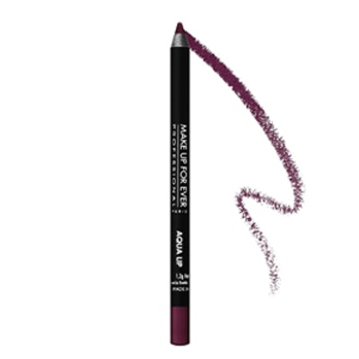 Waterproof Lipliner Pencil in Dark Plum