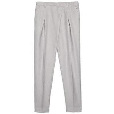 Pleat Detail Trousers