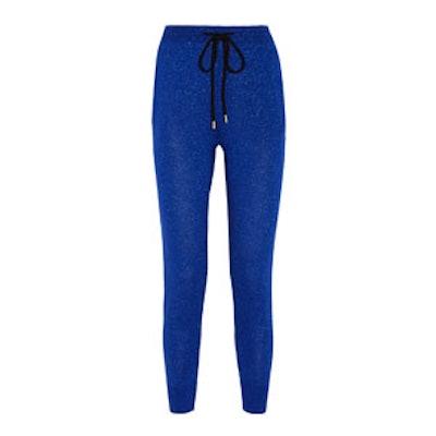 Merino Wool-Blend Track Pants