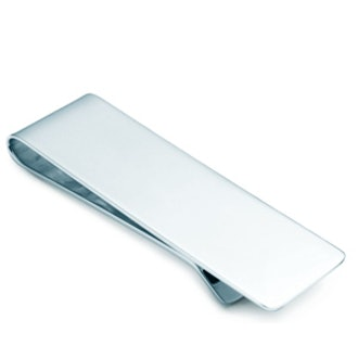 Tiffany Classic money clip in sterling silver
