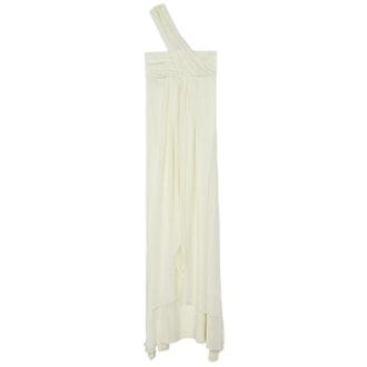 Elle Empire One-Shoulder Dress