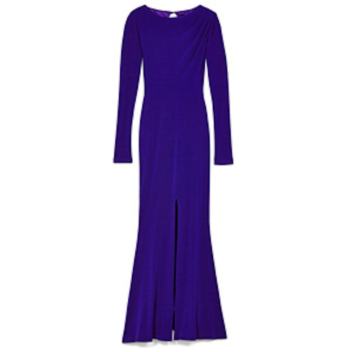 Salina Cutout Back Gown