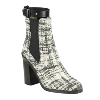 Oxford Tweed Ankle Boots