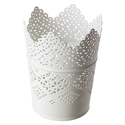Candle Holder In White