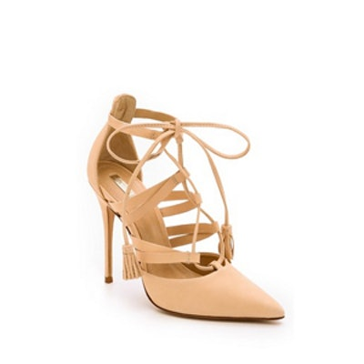 Zora Lace Up Pumps