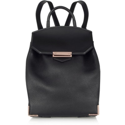 Prisma Textured-Leather Backpack