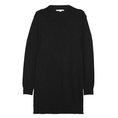 Silk and Cashmere Blend Sweater Dress