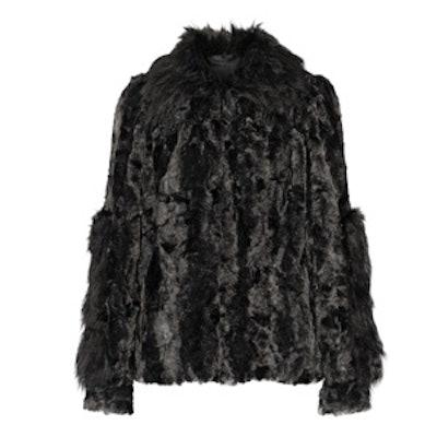 Ombré Faux Fur Coat