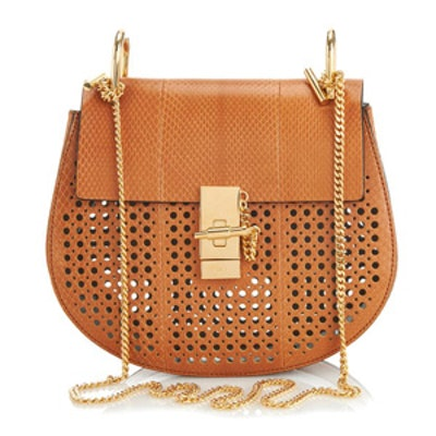 Basket-Weave Shoulder Bag