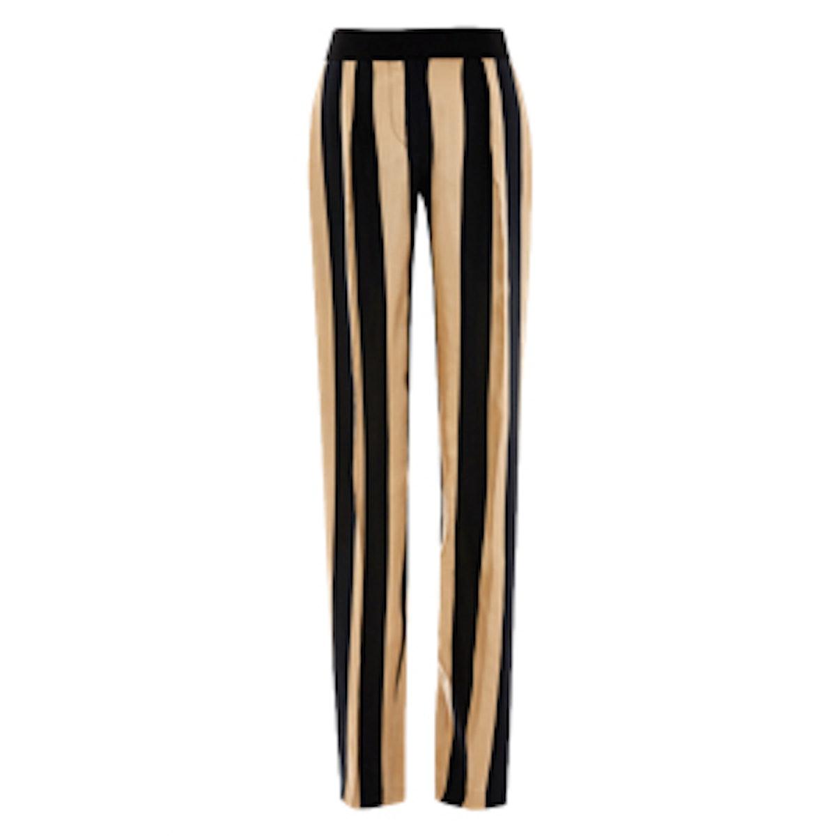 Striped Twill Pant