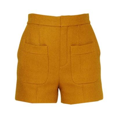 Rustic Cotton Twill Shorts