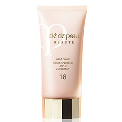 hand cream spf 18