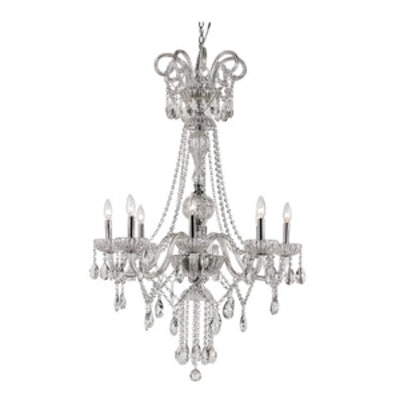HL 8 Light Crystal Chandelier