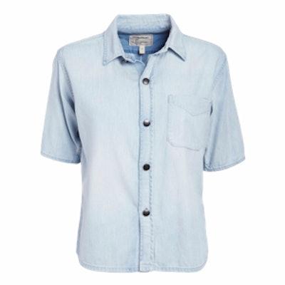 Costa Short-Sleeve Denim Shirt