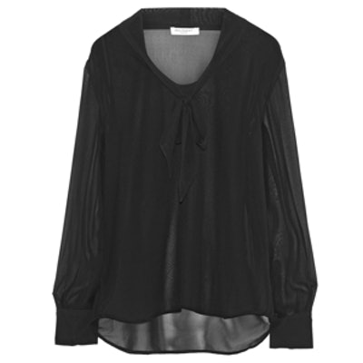 Penelope Pussy-Bow Blouse