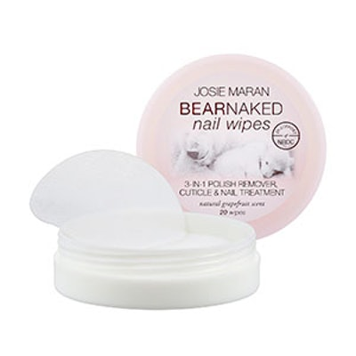 Bear Naked Nail Wipes
