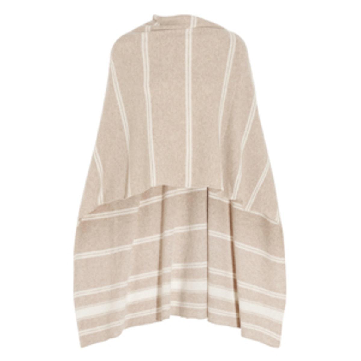 Striped Cashmere Wrap
