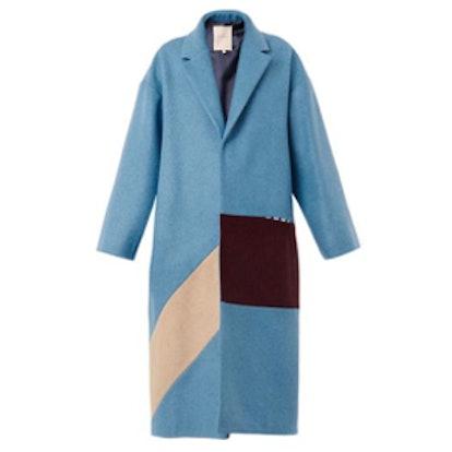 Larkin Felted-Wool Coat