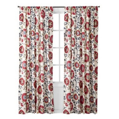 Suzani Vine Curtain Panel